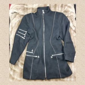 Parasuco coat metal jacket My Chermical romance